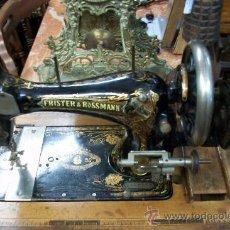 Antiquités: ANTIGUA MAQUINA DE COSER FRISTER & ROSSMANN. Lote 36088350