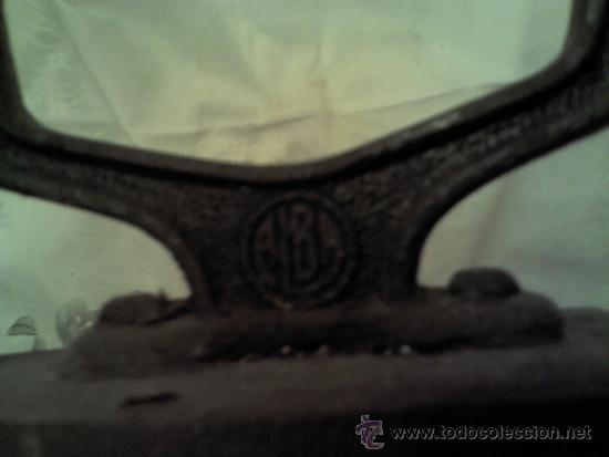 Antigüedades: ANTIGUA PLANCHA MARCA ALBA - Foto 2 - 36097394