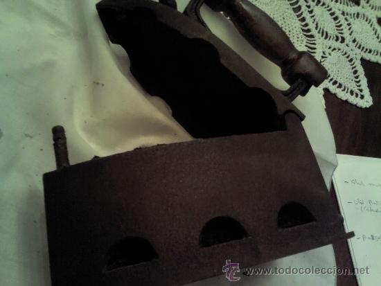 Antigüedades: ANTIGUA PLANCHA MARCA ALBA - Foto 3 - 36097394