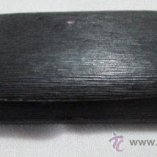 Antigüedades: ANTIGUO ESTUCHE PARA GAFAS EN METAL Y FORRO DE PIEL NEGRA. Lote 36098799