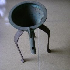 Antigüedades: ANTIGUO EMBUDO DE LABORATORIO. Lote 36107866