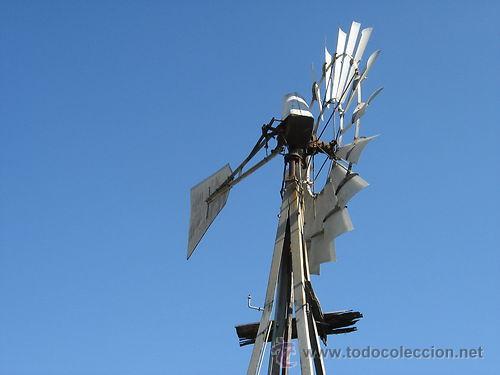 Molino de viento para sacar agua aermotor origi comprar for Piscina molino de viento y sombrilla