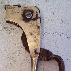 Antiquitäten - tenazas para uso en aviacion ´ aircraft materials cranked pliers 500 ´ , princ XX aprox - 24729101