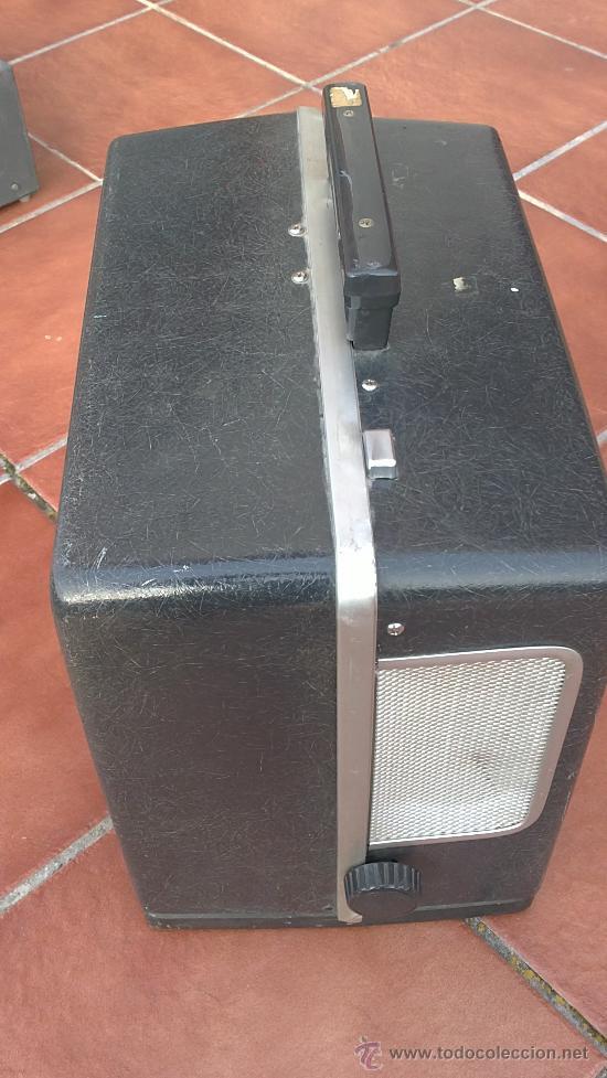 Antigüedades: PROYECTOR DE CINE PROFESIONAL BELL HOWELL FILMO SOUND 16MM MADE IN U.S.A. - Foto 13 - 36245127