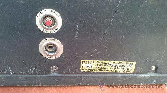 Antigüedades: PROYECTOR DE CINE PROFESIONAL BELL HOWELL FILMO SOUND 16MM MADE IN U.S.A. - Foto 11 - 36245127