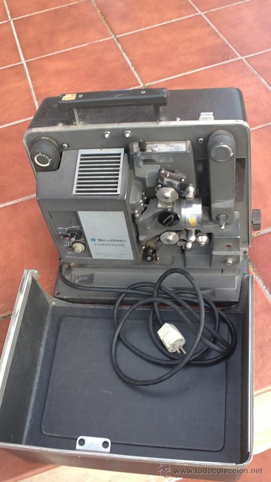 Antigüedades: PROYECTOR DE CINE PROFESIONAL BELL HOWELL FILMO SOUND 16MM MADE IN U.S.A. - Foto 8 - 36245127