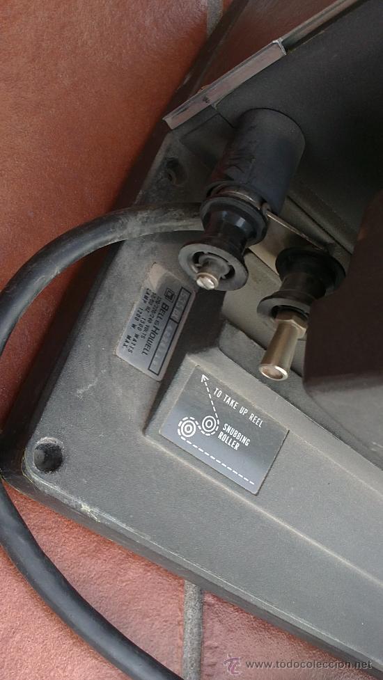 Antigüedades: PROYECTOR DE CINE PROFESIONAL BELL HOWELL FILMO SOUND 16MM MADE IN U.S.A. - Foto 5 - 36245127
