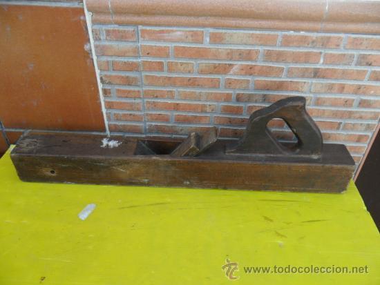 CEPILLO DE CARPINTERO GRANDE (Antigüedades - Técnicas - Herramientas Profesionales - Carpintería )