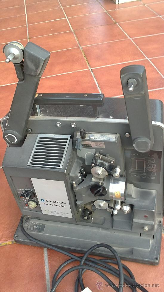 PROYECTOR DE CINE PROFESIONAL BELL HOWELL FILMO SOUND 16MM MADE IN U.S.A. (Antigüedades - Técnicas - Aparatos de Cine Antiguo - Proyectores Antiguos)