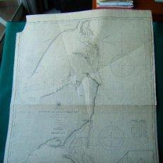Antigüedades: ASCENSION AND ESPIRITU SANTO BAYS - CENTRAL AMERICA - MEXICO - YUCATAN - CARTA MARINA - 107X77 CM. . Lote 36240353