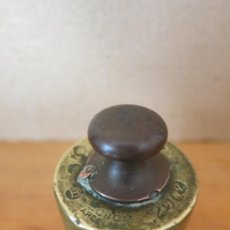 Antigüedades: PESA DE 200 GRAMOS FABRICANTE J COBOS. Lote 36266120