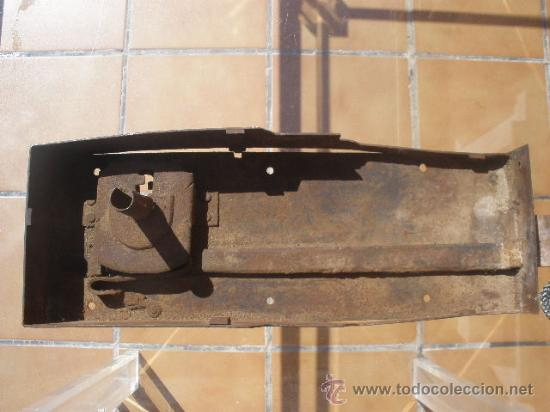 Antigüedades: GAN CERRADURA DE HIERRO, SIN LLAVE. 40CM X 15CM X 5,5CM (SIN EL PASADOR) - Foto 5 - 36286613
