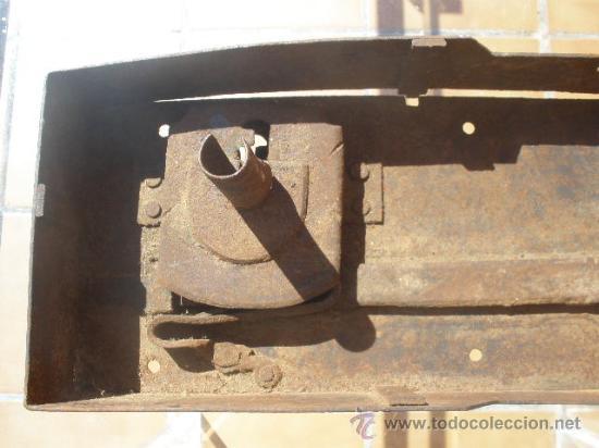Antigüedades: GAN CERRADURA DE HIERRO, SIN LLAVE. 40CM X 15CM X 5,5CM (SIN EL PASADOR) - Foto 7 - 36286613
