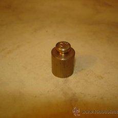 Antigüedades: PESA PONDERAL DE 10 GRAMOS - BRONCE O LATON. Lote 36322173