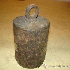 Antigüedades: PILON PARA ROMANA - 3200 GR.. Lote 36322301