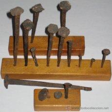 Antigüedades: LOTE CLAVOS FORJA. Lote 36357454