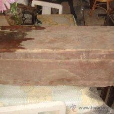 Antigüedades: ANTIGUA CAJA DE HERRAMIENTAS DE MADERA DE LOS AÑOS 40-50. Lote 36361124