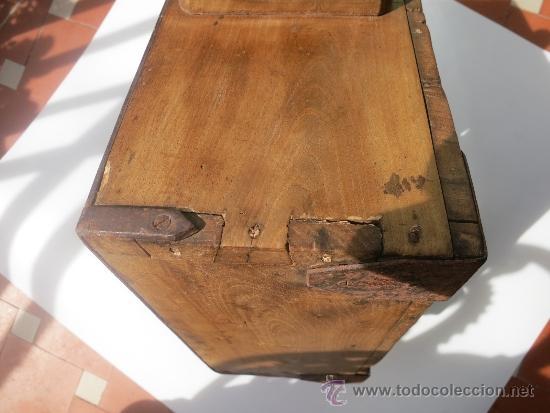 Antigüedades: Medida de grano de 10 litros Portugesa - Foto 4 - 36383590
