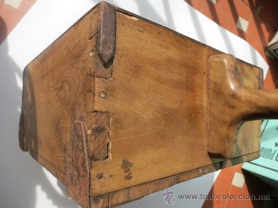 Antigüedades: Medida de grano de 10 litros Portugesa - Foto 5 - 36383590