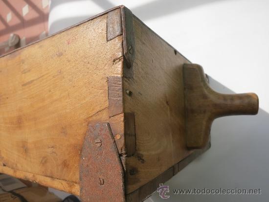 Antigüedades: Medida de grano de 10 litros Portugesa - Foto 7 - 36383590