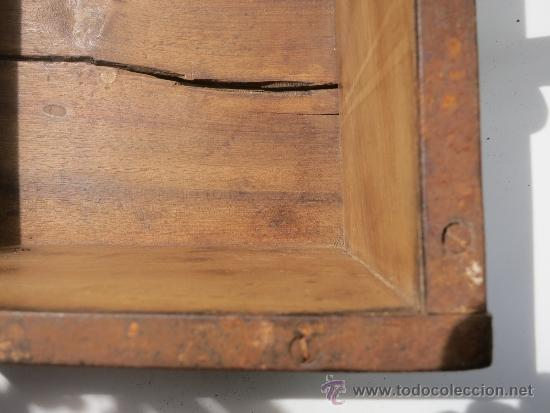 Antigüedades: Medida de grano de 10 litros Portugesa - Foto 8 - 36383590