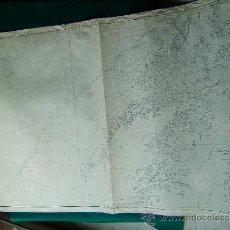 Antigüedades: DEN NORSKE KYST FRA STÖTT TIL ANDENES - (NORUEGA) - CARTA MARINA 86X124 CM. - 1958. . Lote 36403869