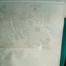 Antigüedades: DEN NORSKE KYST FRA SVENNER TIL SKIEN OG JOMFRULAND - (NORUEGA) -CARTA MARINA - 95X78 CM.- 1958.. Lote 36404724