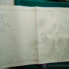 Antigüedades: DEN NORSKE KYST FRA STÖTT TIL SALTFJORDEN - (NORUEGA) - CARTA MARINA 77X120 CM. - 1908 -1957. . Lote 36405015