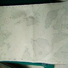 Antigüedades: DEN NORSKE KYST FRA HARSTAD OG SJÖVEIEN TIL DYRÖY- (NORUEGA) - CARTA MARINA 77X104 CM. 1915-1958. . Lote 36405134