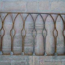 Antigüedades: REJITA PUERTA REJA BARANDILLA ANTIGUA DE HIERRO ARTISTICO. BONITA. Lote 36440761