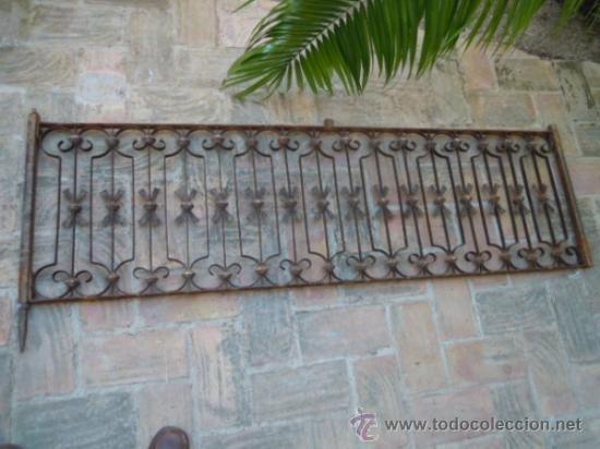 Rejas de hierro segunda mano interesting hierro forjado for Vallas de hierro de segunda mano