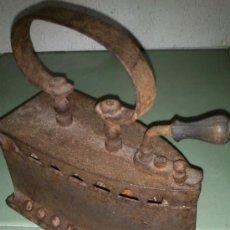 Antigüedades: PLANCHA PARA CARBÓN, ORIGINAL. Lote 36430641