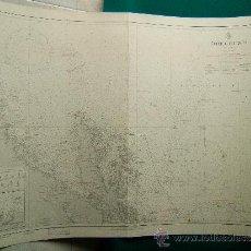 Antigüedades: ÖREGRUND - (SUECIA) - CARTA MARINA - 58X78 CM. - 1802-1959 ULTIMA CORRECCION. . Lote 36441026