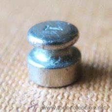 Antigüedades: PESA DE 1 GRAMO ACERO. Lote 36457449