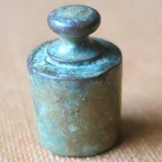 Antigüedades: PESA ANTIGUA DE 10 GRAMOS CONTRASTADA B. Lote 36458538