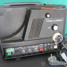 Antigüedades: PROYECTOR SONORO CHINON SOUND 7500 MV FUNCIONANDO. Lote 36511161
