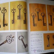 Antigüedades: CERRADURAS, LLAVES,CANDADOS, CANDADO HIERRO FORJADO, FORJA. Lote 36512780