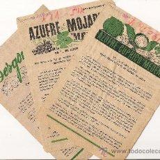 Antigüedades: AZUFRE CUPRICO - DESGORGOGIL - FOLLETOS ANTIGUOS - 1946 - PUBLICIDAD PARA EL CAMPO. Lote 36535124