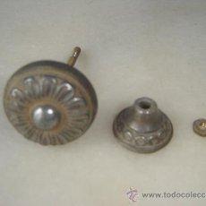 Antigüedades: TIRADOR MESITA DECORACIÓN FLORAL... Lote 36554205