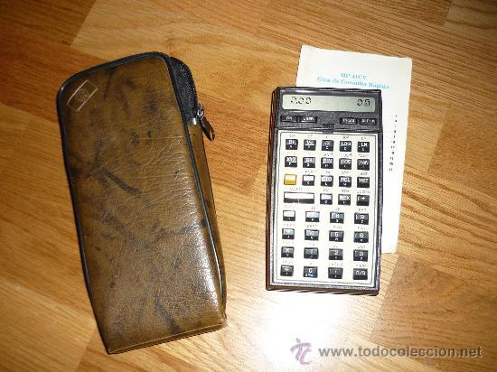 calculadora hewlett pac hp 41 cv con funda y p