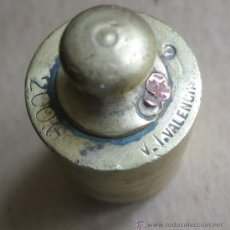 Antigüedades: PESA 200 GRAMOS FABRICA V.T VALENCIA (VICTOR TONDA ). Lote 36573914
