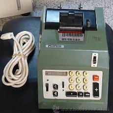 Antigüedades: MAQUINA DE CALCULAR ELECTRICA HISPANO-OLIVETTI - AÑOS 70. Lote 36603959
