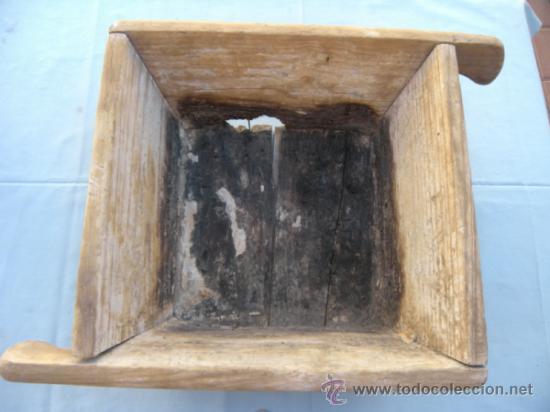 ARQUITECTURA, ANTIGUA GAVETA DE ALBAÑIL (Antigüedades - Técnicas - Herramientas Profesionales - Albañileria)