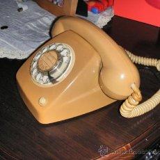 Teléfonos: TELEFONO HERALDO MARRON/OCRE CITESA FUNCIONANDO. Lote 36773985