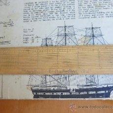 Antigüedades: REGLA INGLESA DE 1 DECIMETRO G ROWNEY & LONDON. Lote 36775989