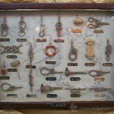 Antigüedades: CUADRO NAUTICO DE NUDOS MARINEROS. Lote 36815364