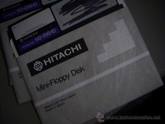 Antigüedades: lote de 16 floppy disk hitachi 5 1/4 - Foto 2 - 36817634