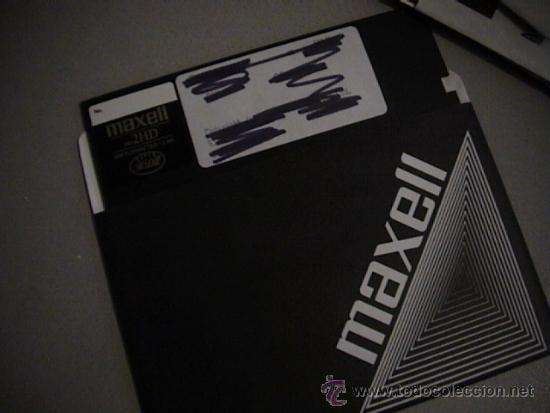 Antigüedades: lote de 16 floppy disk hitachi 5 1/4 - Foto 3 - 36817634