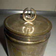 Antigüedades: ENVASE PLATEADO MEDICO. Lote 36846470