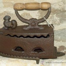 Antigüedades: PLANCHA HIERRO FUNDIDO .S XIX. PORTUGAL. TRESPIES HIERRO.. Lote 36908451